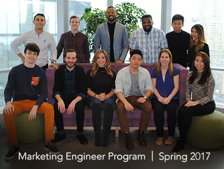 Marketing Engineer Program, Spring 2017