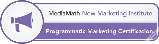 Programmatic Marketing Certification